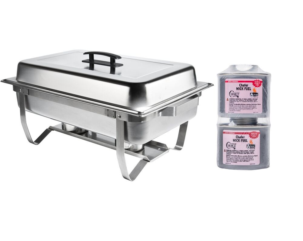 new stainless folding chafing dish set lowest price chafer warmer rebate ebay. Black Bedroom Furniture Sets. Home Design Ideas