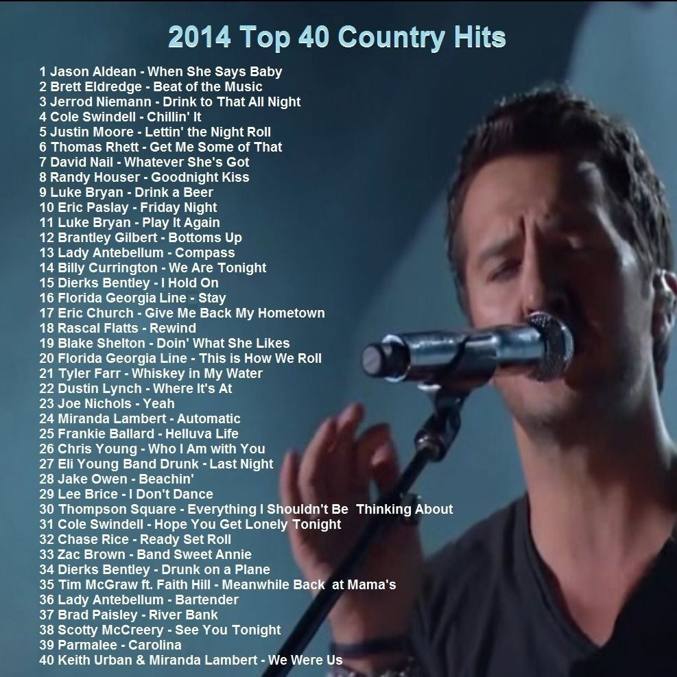 Country Music Promo DVD, Top 40 Country Hit Videos, Best