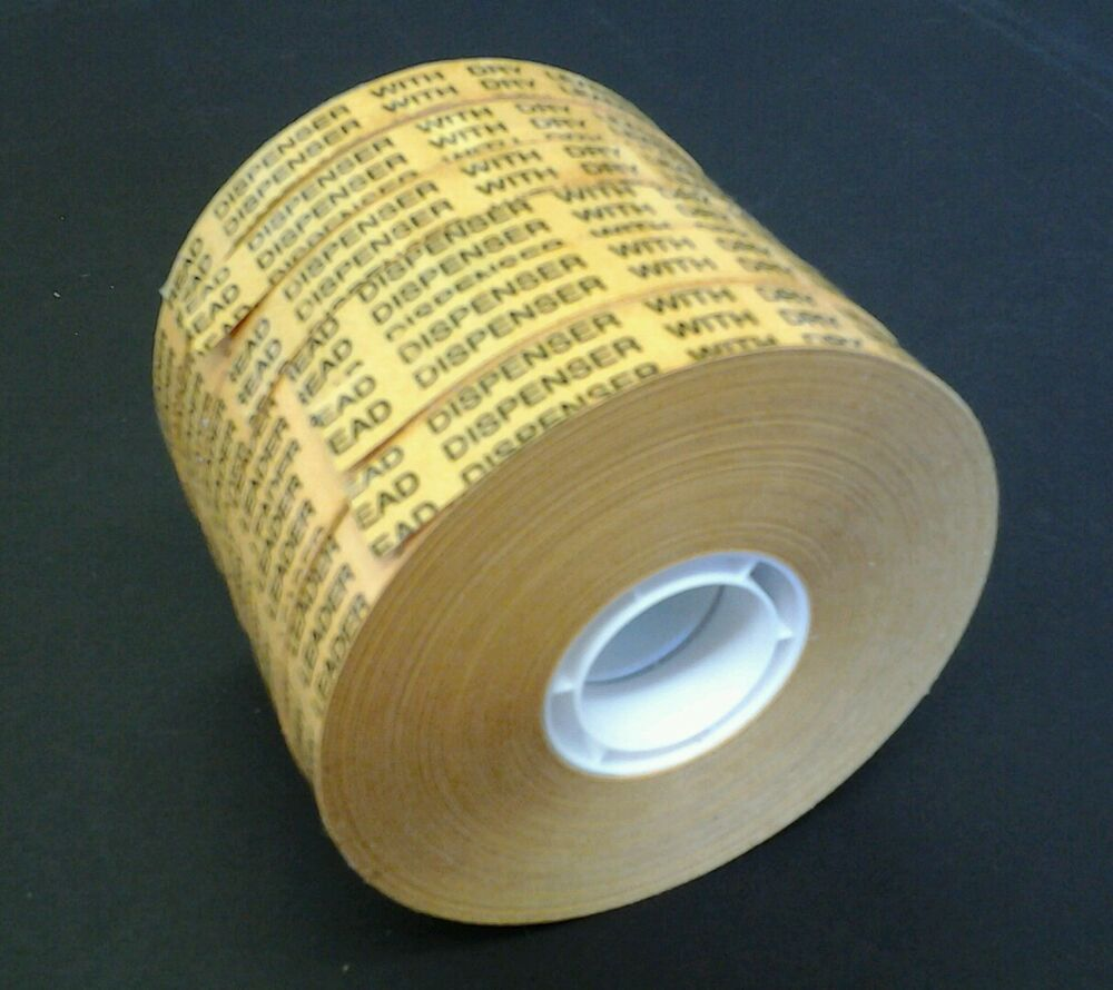 6 X Atg Tape 12mm X 50m Double Sided Adhesive Transfer
