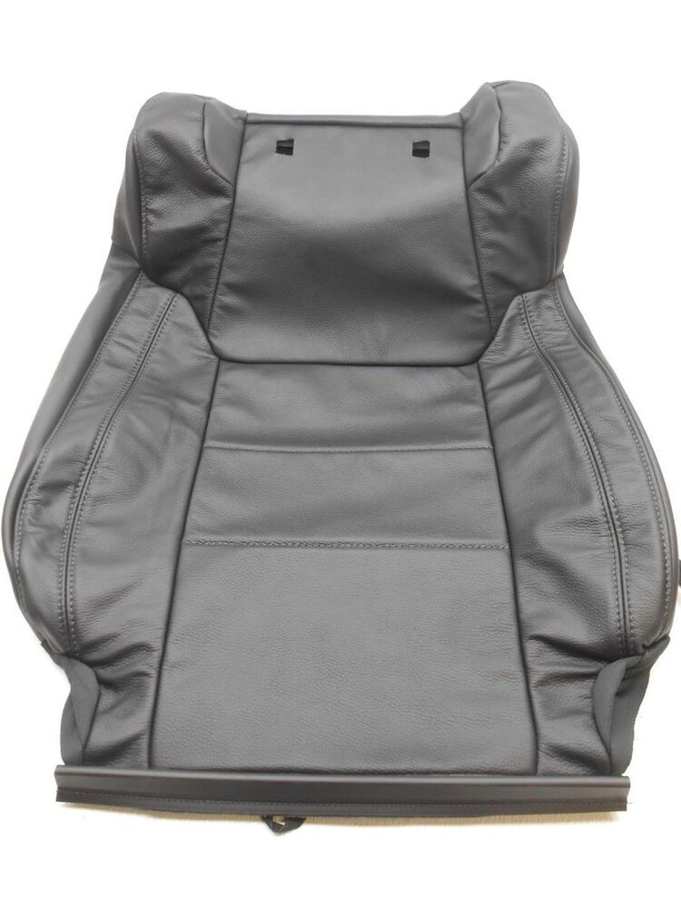 genuine oem toyota tundra black leather seat cover right 2014 2015 ebay. Black Bedroom Furniture Sets. Home Design Ideas