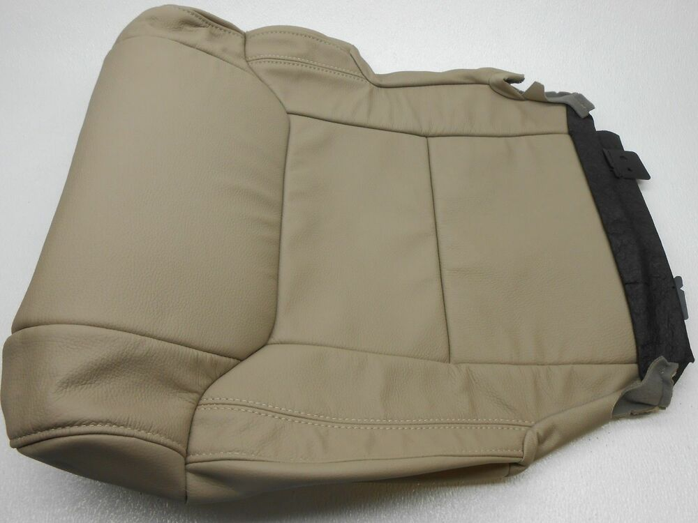 Genuine OEM Toyota Tundra Tan Lower Leather Seat Cover