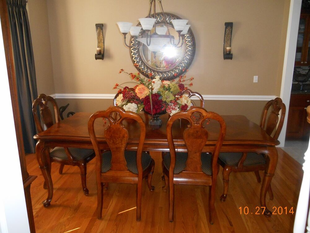 formal dining room set by thomasville ebay On thomasville dining room