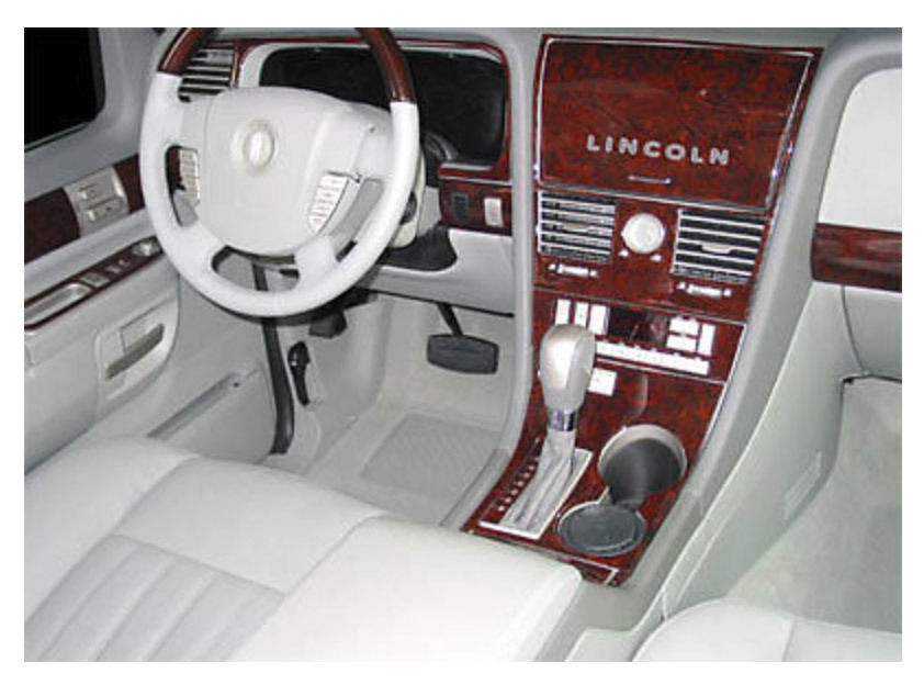 Lincoln Aviator 2003 2006 Wood Dash Trim Full Kit 32 Pcs Without Heated Seats6 Ebay