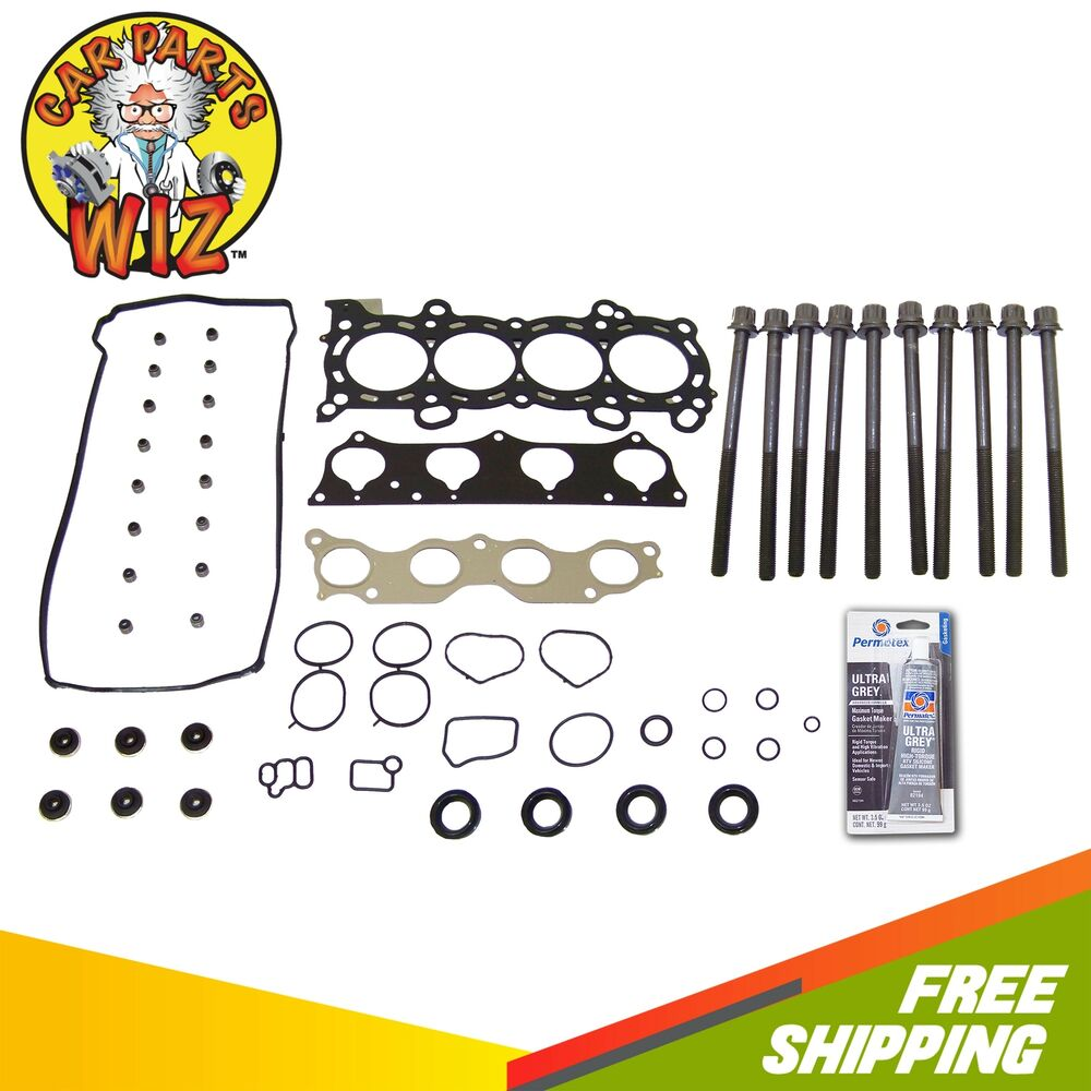 Head Gasket Set Bolts Kit Fits 02-06 Acura RSX Honda Civic ...