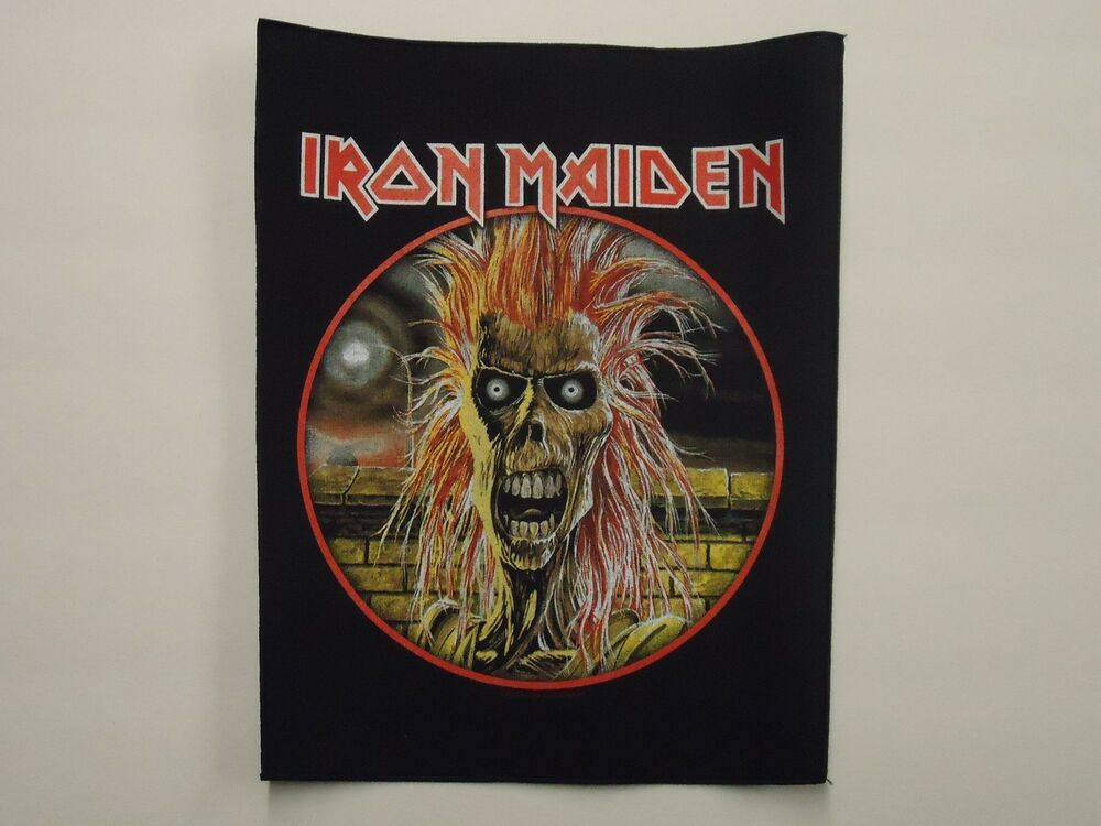 Iron maiden patches Etsy