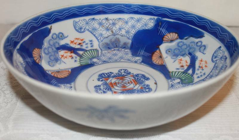 Hand Painted Rice Bowl Mouse