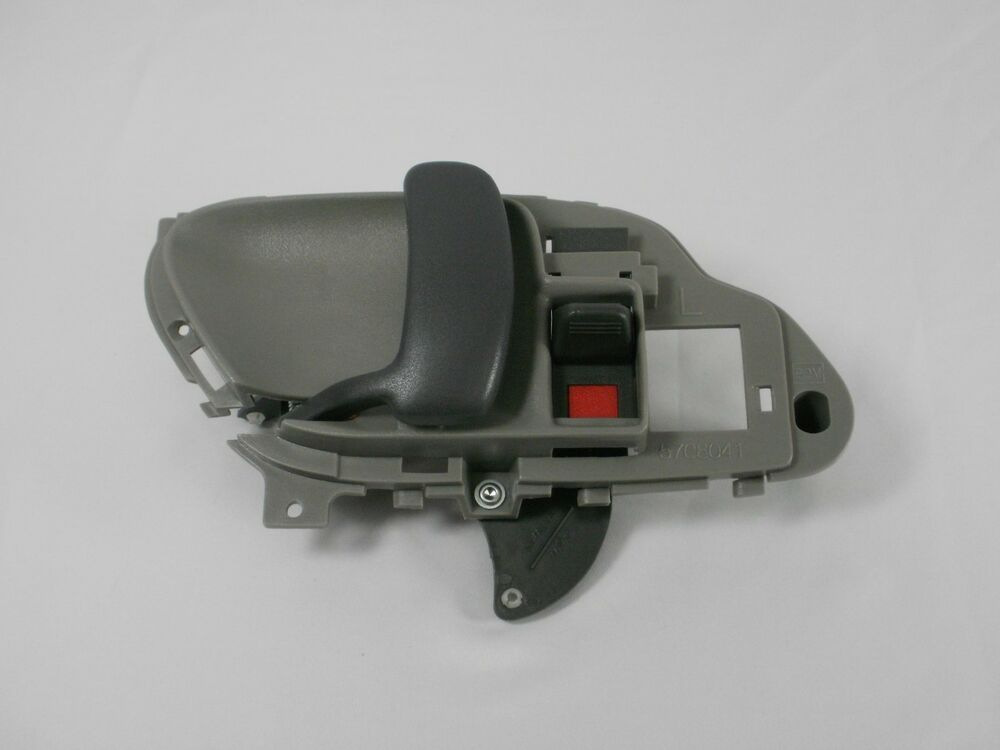 Chevy silverado inside interior door handle gray left 1995 1996 1997 1998 1999 ebay for 1999 suburban interior door handle