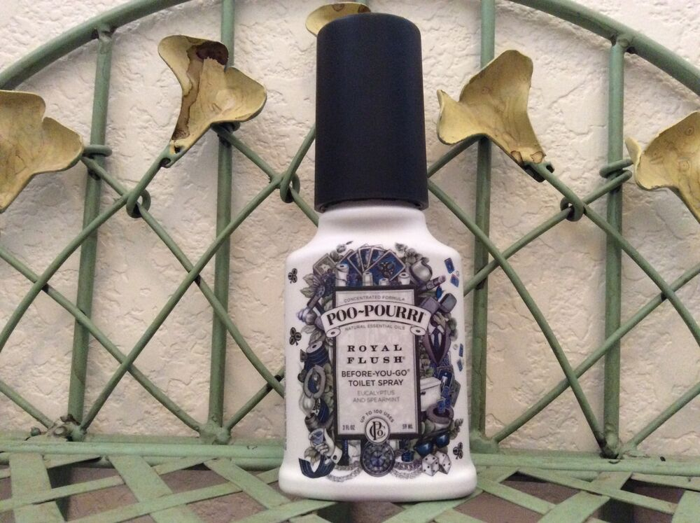 Poo Pourri Bathroom Deodorizers Royal Flush Or Heaven Scent 2oz Ebay