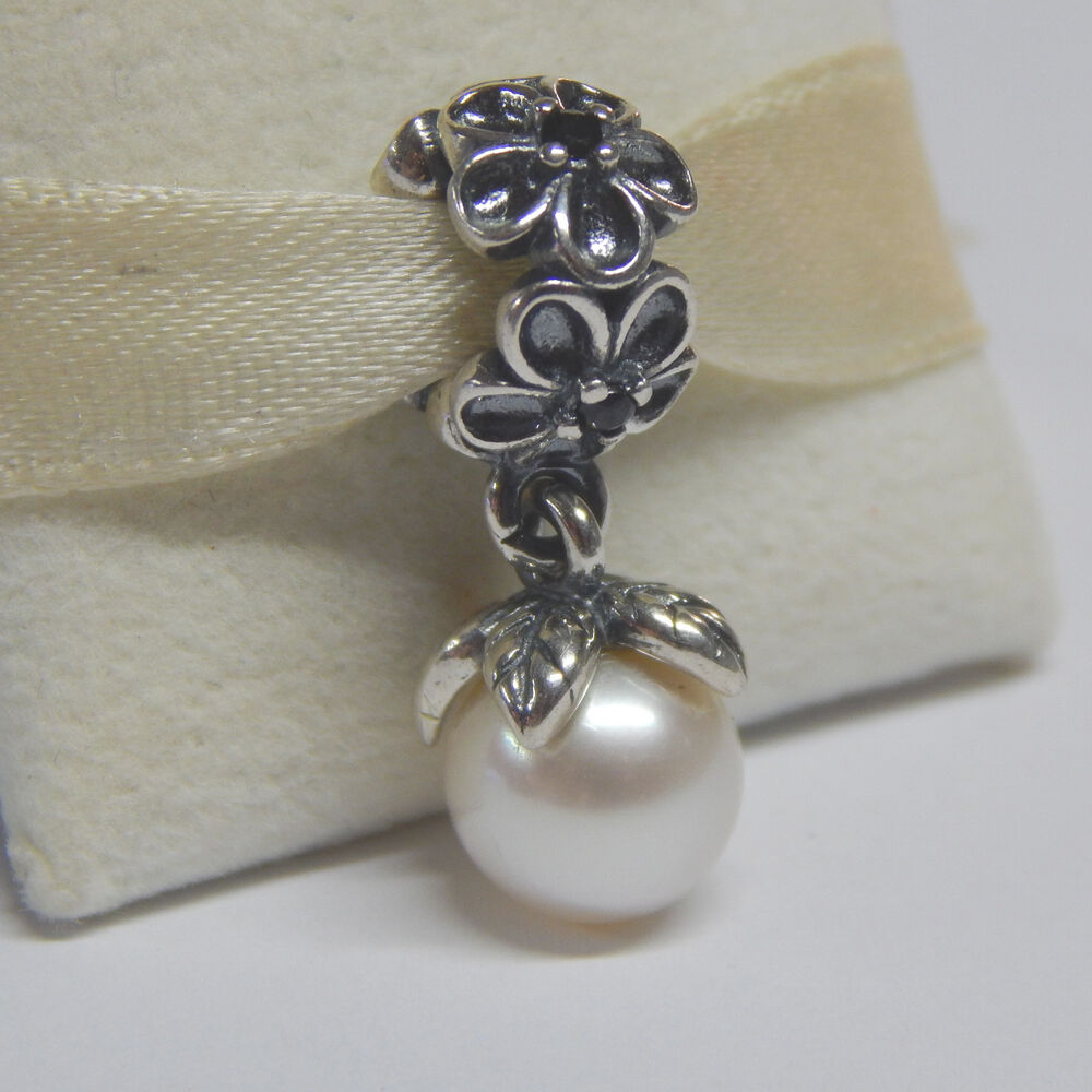 Authentic Pandora 790858P Charm Odyssey White Spinel
