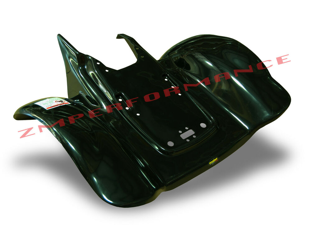 new honda trx 300ex 250x black plastic rear fender