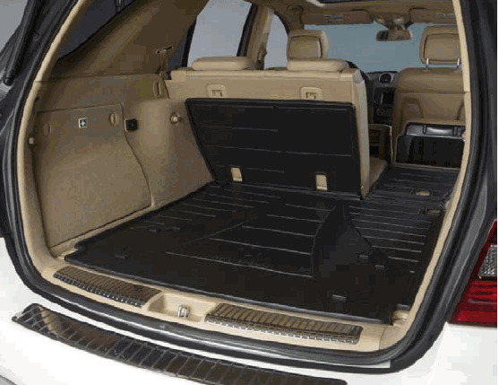 Mercedes benz w164 ml class genuine foldable cargo liner for Mercedes benz cargo