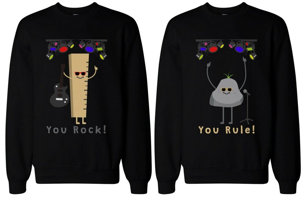 Funny Best Friend Sweaters You Rock And Rule Bff