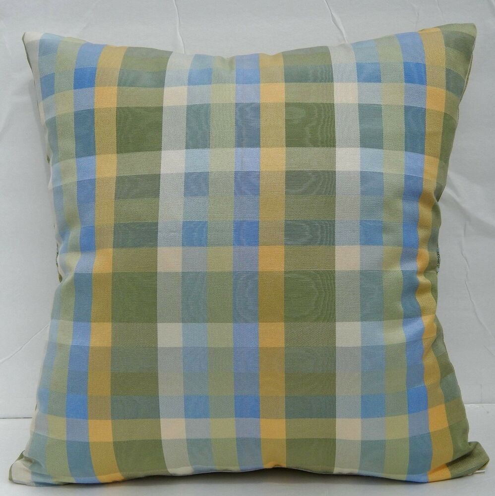 Country Blue Throw Pillows : 17