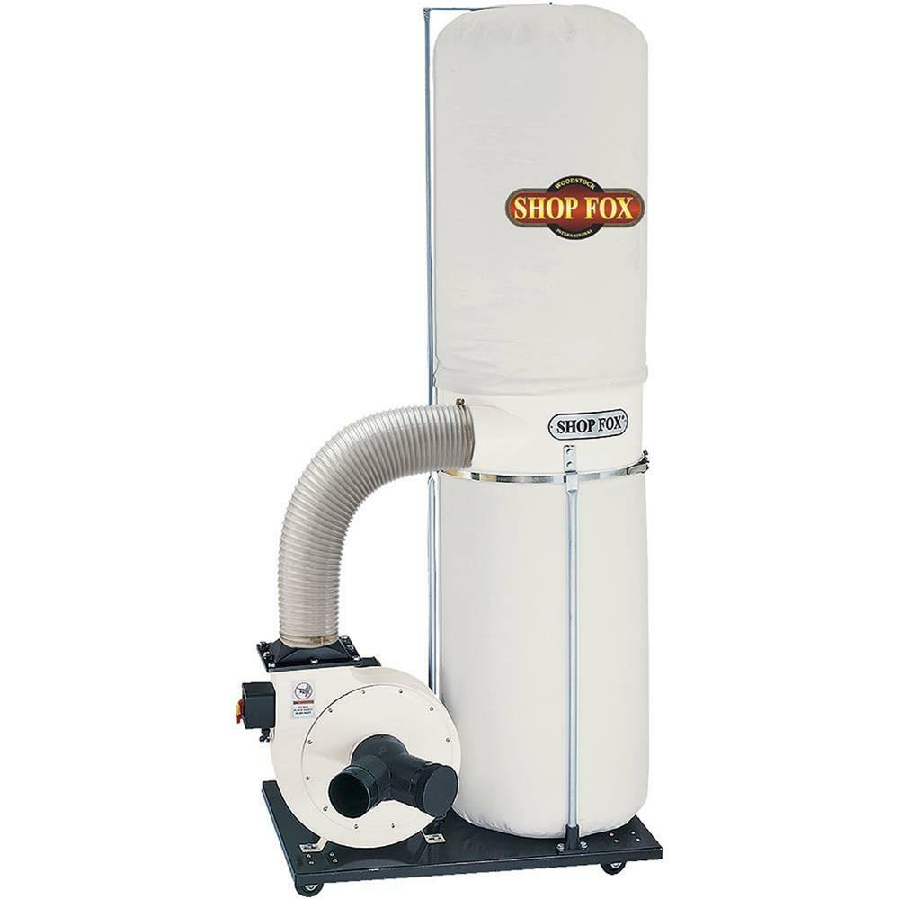 W1666 Shop Fox 2 HP Dust Collector | eBay