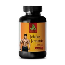 Tribulus Terrestris 1000mg. Testosterone Booster. Muscle Mass. Strength - 90 Tab