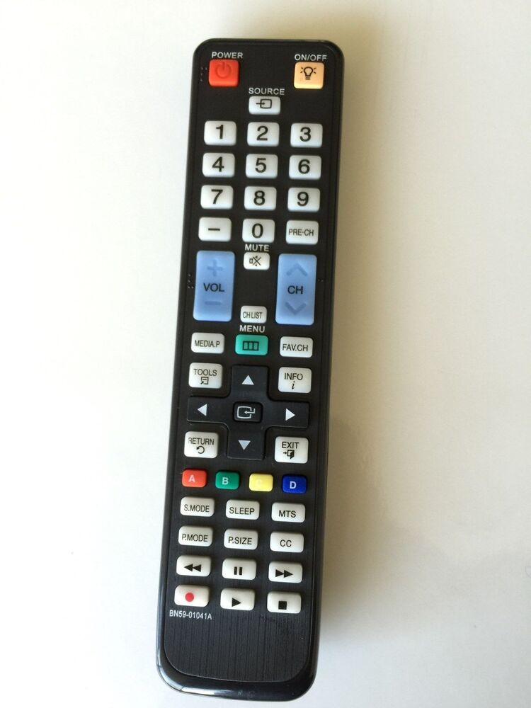 bn59 01041a replacement remote control for samsung tv ebay. Black Bedroom Furniture Sets. Home Design Ideas