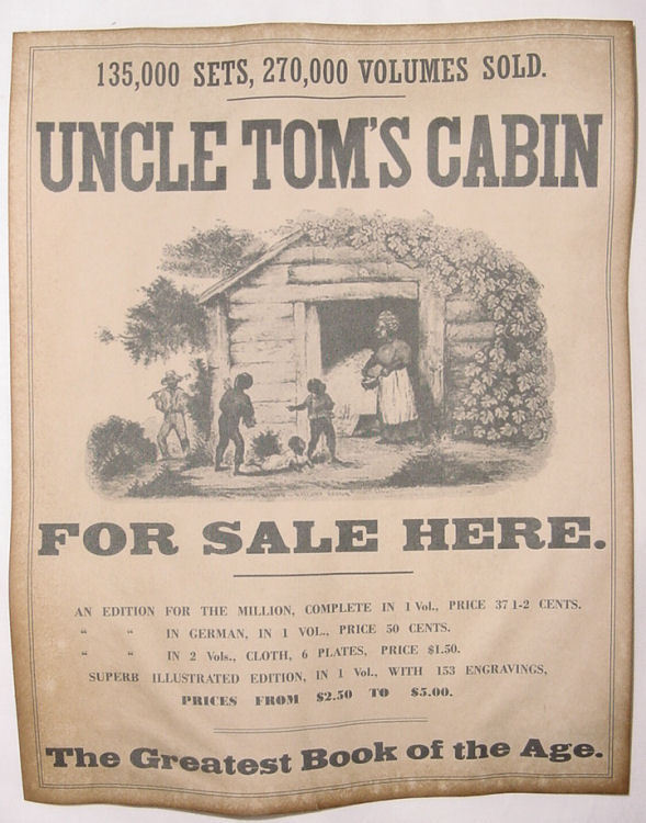 uncle tom's cabin synopsis In cultural terms, a chestnut is a joke or story that is old but frequently repeated  no better definition of a dramatic chestnut exists than harriet beecher stowe's.
