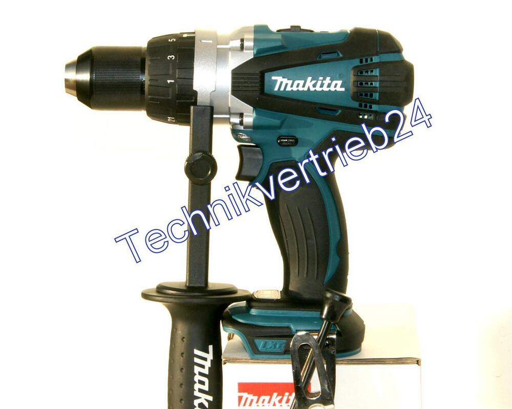 makita akku schlagbohrschrauber dhp458z 18v neu sologer t ebay. Black Bedroom Furniture Sets. Home Design Ideas