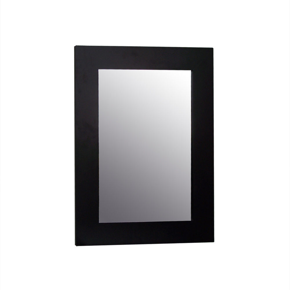 Chatham Modern Wall Mounted Bathroom Mirror with Frame