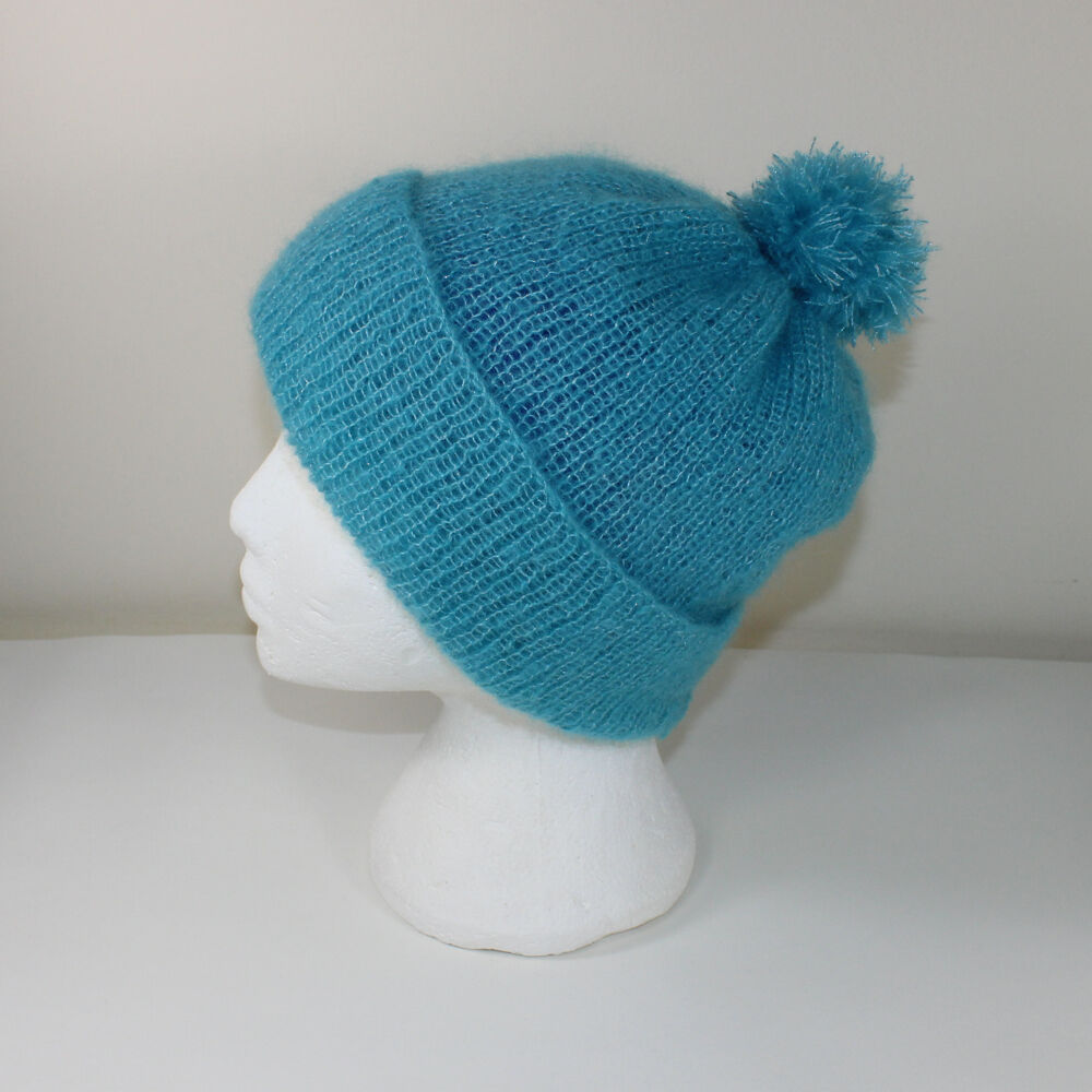 PRINTED KNITTING INSTRUCTIONS-PARTY ANGEL BOBBLE BEANIE ...