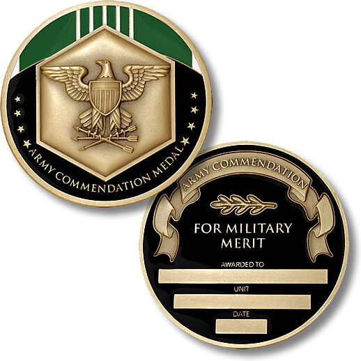 U.S. Army / Commendation Medal - Challenge Coin | eBay