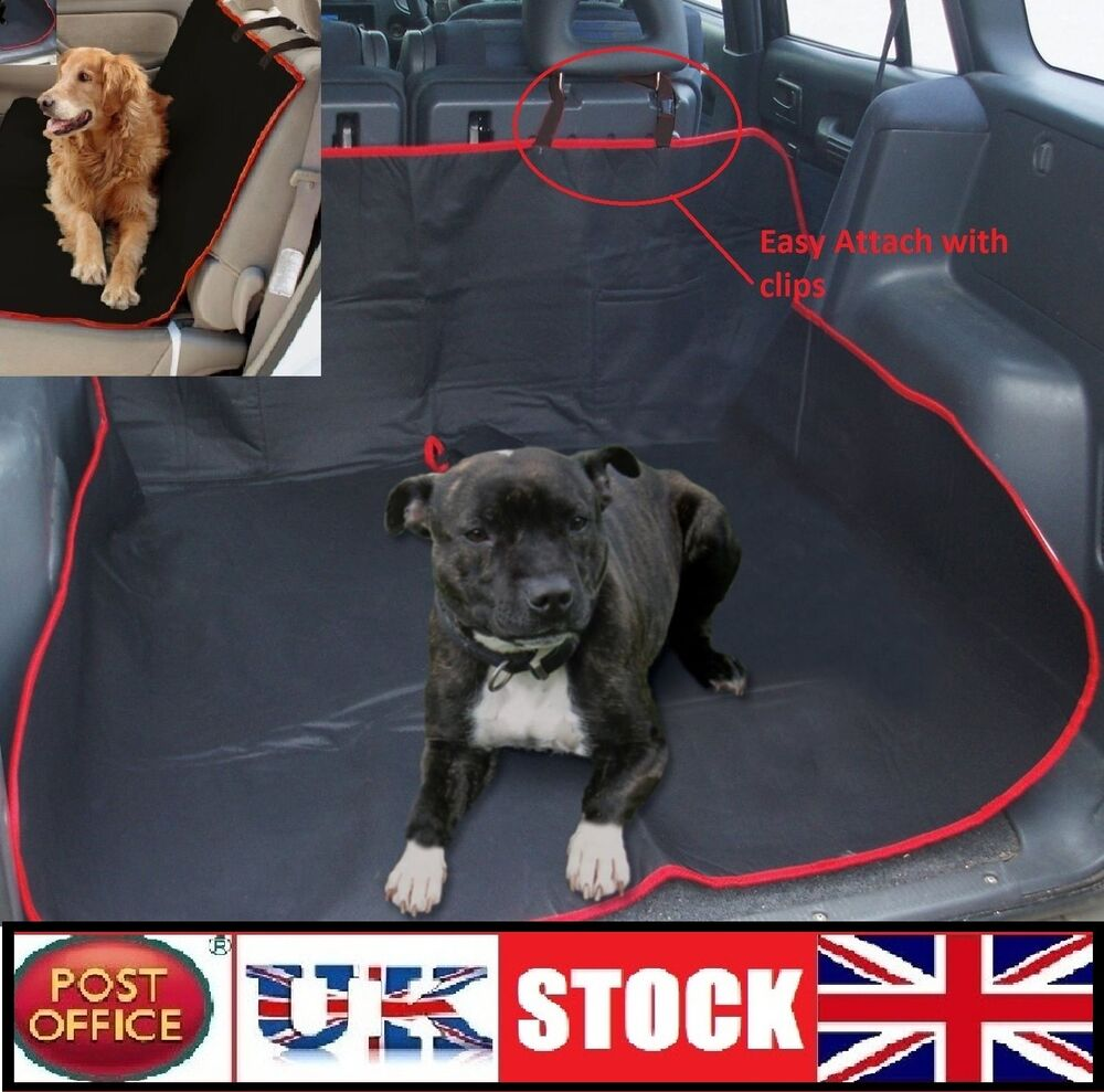 car boot liner rear seat floor mat cover protector water resistant dog cat pets ebay. Black Bedroom Furniture Sets. Home Design Ideas