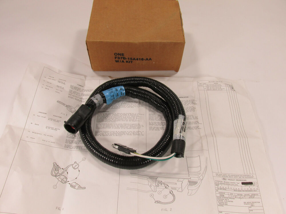 ford explorer trailer wire kit part  f37b