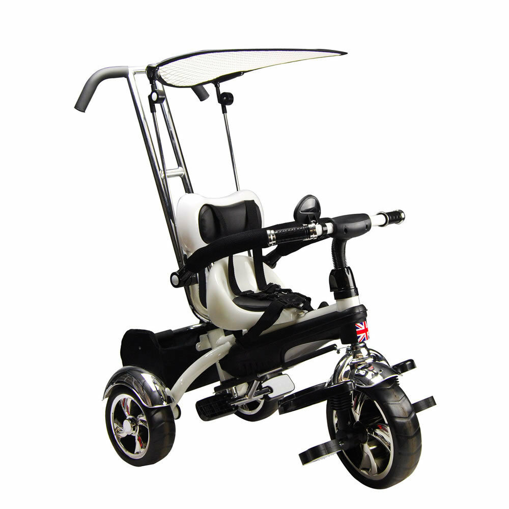 Kyootsi Kids Smart Trike 3 Wheel 4 In 1 Tricycle With