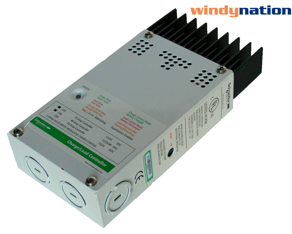 wind charge controller xantrex schneider c40 solar wind generator turbine hyrdro charge controller