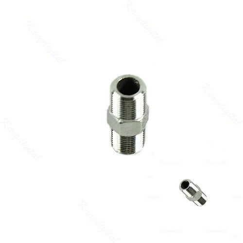 Hexagon nipple male stainless steel threaded pipe