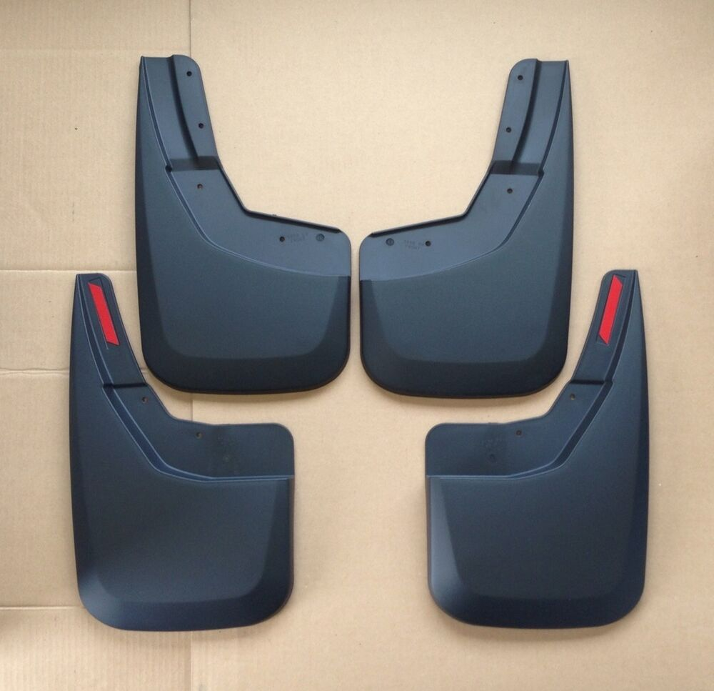 Husky Liners Front Rear Mud Flaps Mud Guards 2014 2015 Chevrolet