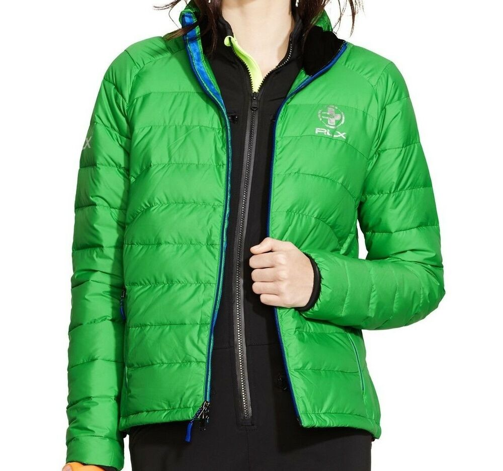 Polo Ralph Lauren 225 Rlx Explorer Green Quilted Down