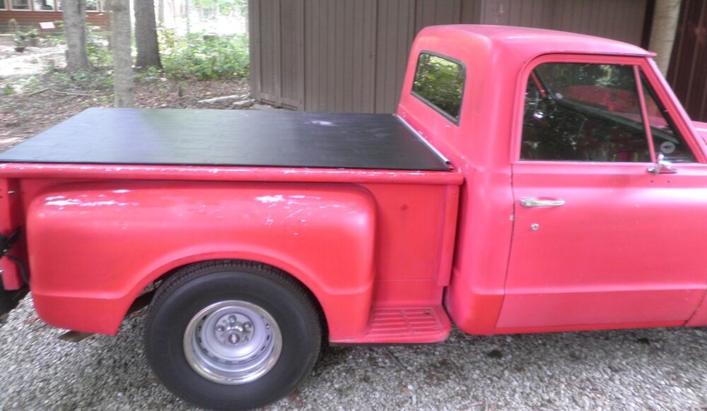 1955 87 Chevy C10 Stepside 6' Short Bed Hatch Style Tonneau by Craftec ...