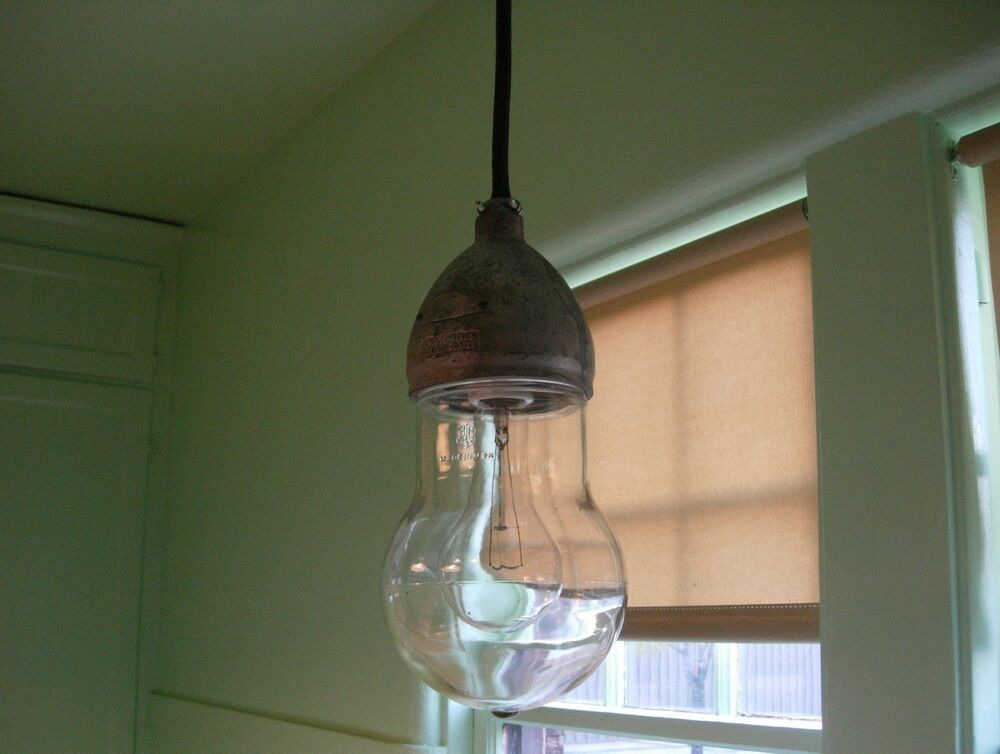 vintage crouse hinds industrial explosion proof light fixture ebay. Black Bedroom Furniture Sets. Home Design Ideas
