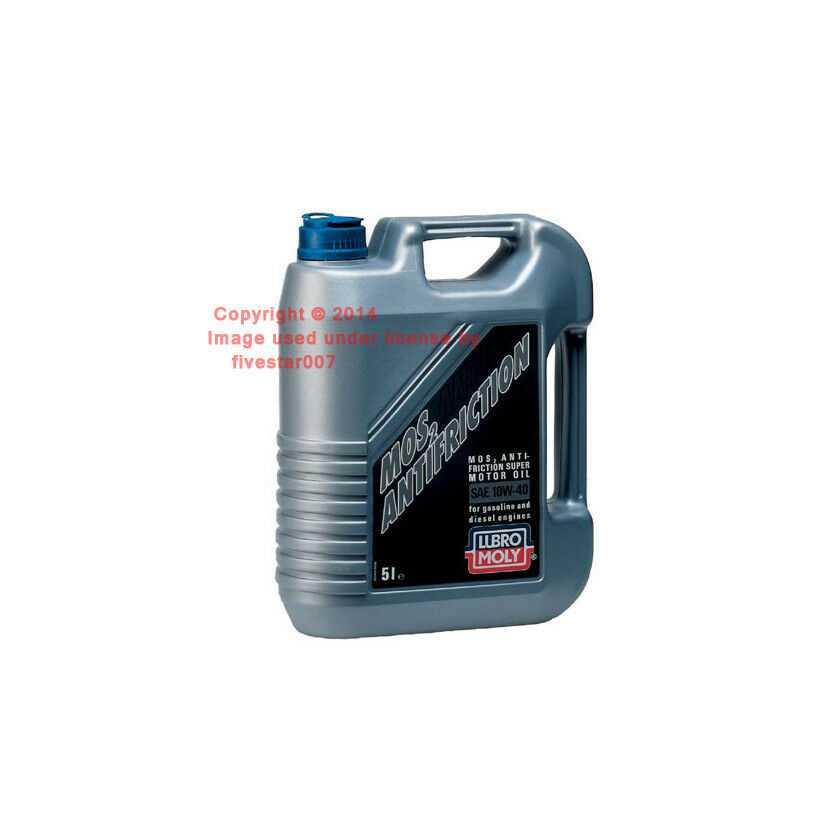 5 liters 10w40 liqui moly semi synthetic gas diesel for Synthetic motor oil for diesel engines