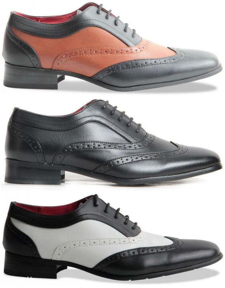Red Wingtip Shoes
