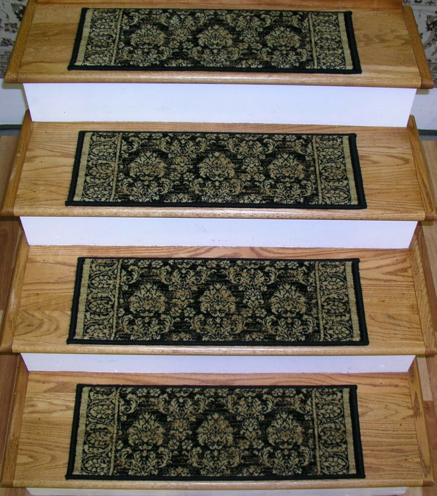 160369 rug depot premium stair treads set of 13 treads 26 quot x 9
