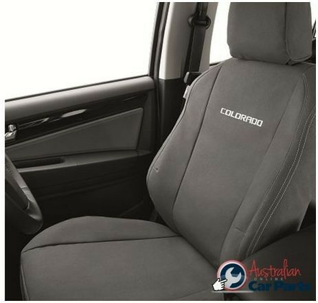Canvas Seat Covers >> HOLDEN Colorado RG Front & Rear Seat Canvas Covers set Genuine New 2012-2015 | eBay