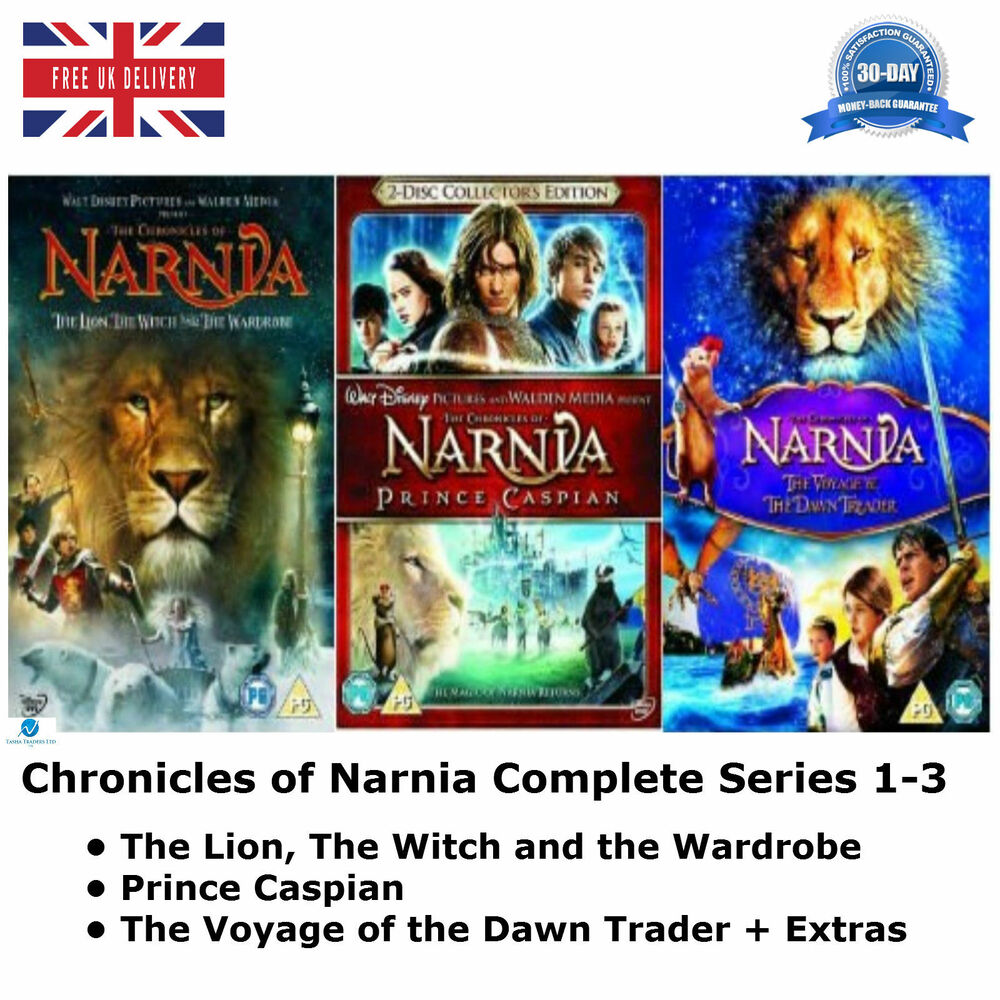The Complete Chronicles of Narnia DVD Collection Extras ...