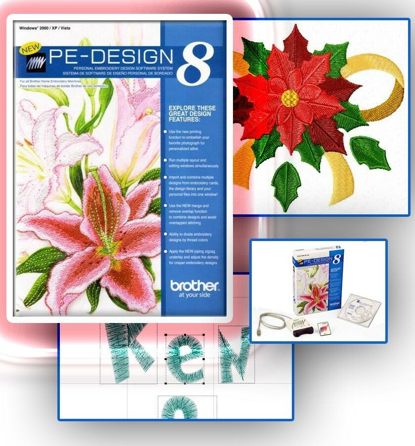 Brother Pe Design   Embroidery Software Lettering And Monogramming