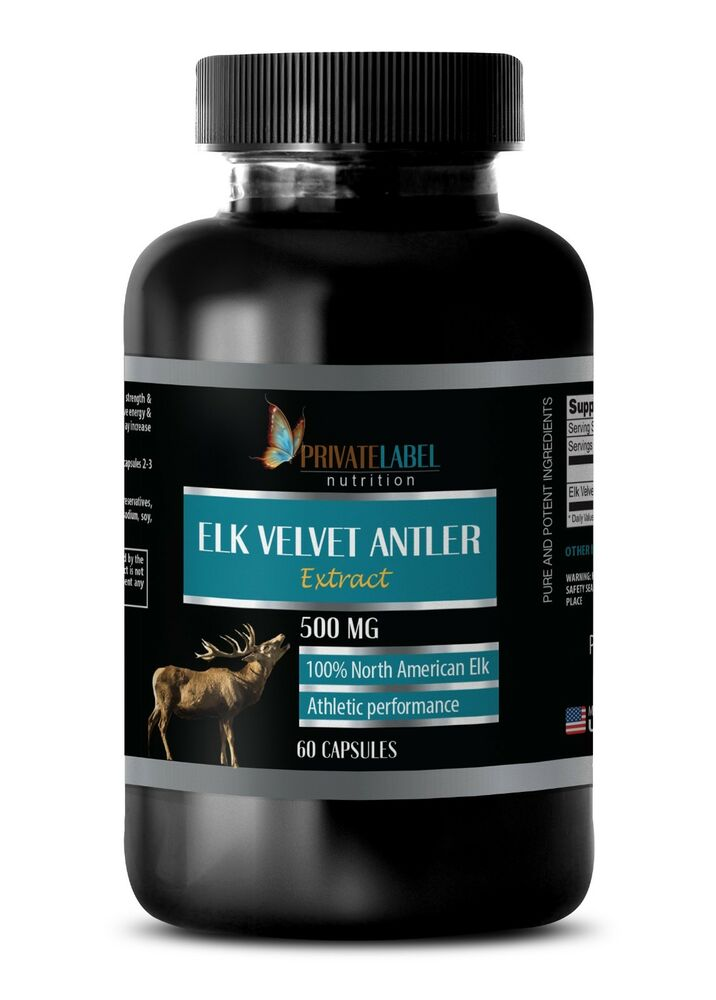 75 Chrome Shop >> Deer Antler Velvet Extract Powder - Elk Velvet Antler ...