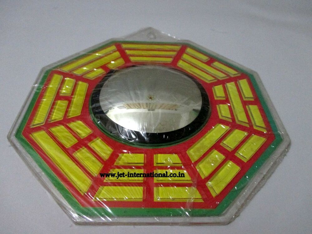 Feng Shui Bagua Authentic Mirror Protection 6 Positive