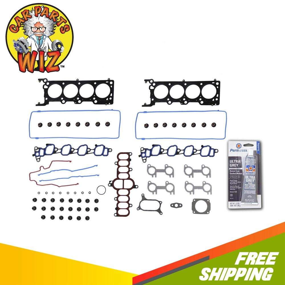 1999 Ford Econoline E150 Cargo Head Gasket: Head Gasket Set Fits Ford E150 Expedition F150 4.6L V8