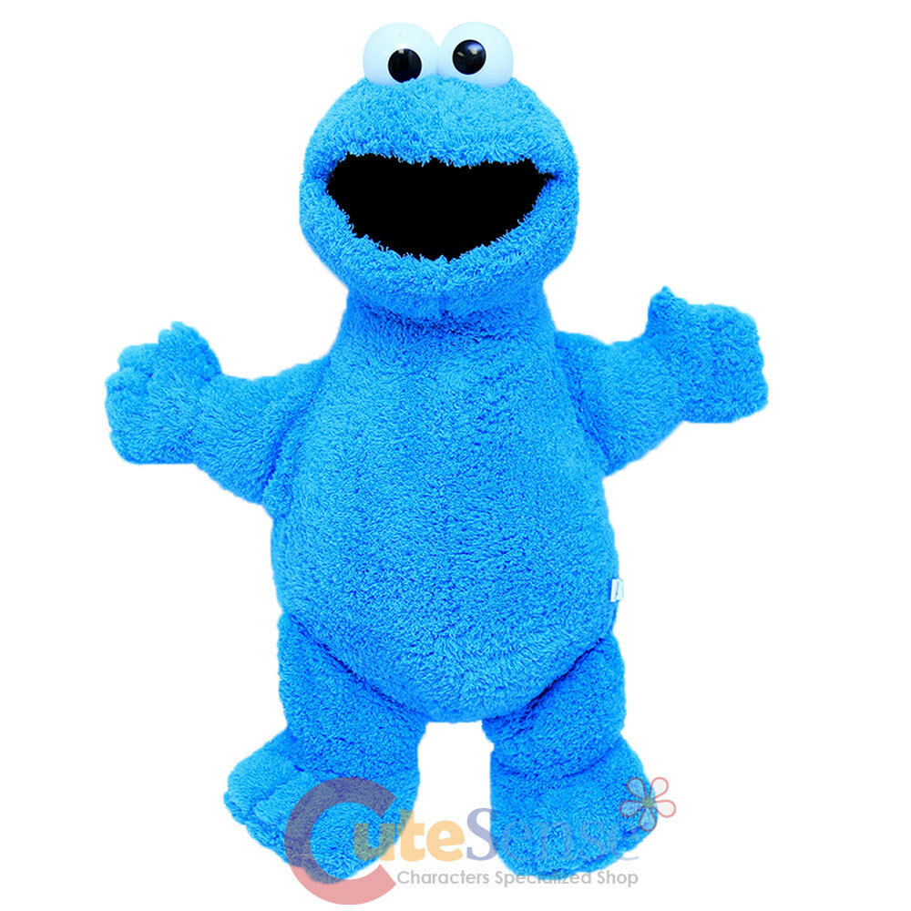 Sesame street cookie monster plush doll 24 quot jumbo stuffed toy figure