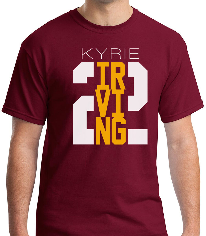 kyrie irving 2 shirt cleveland cavaliers cavs tee new. Black Bedroom Furniture Sets. Home Design Ideas