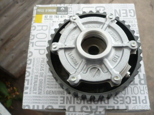 genuine renault clio sport 2 0 16v 172 182 camshaft dephaser pulley ebay. Black Bedroom Furniture Sets. Home Design Ideas