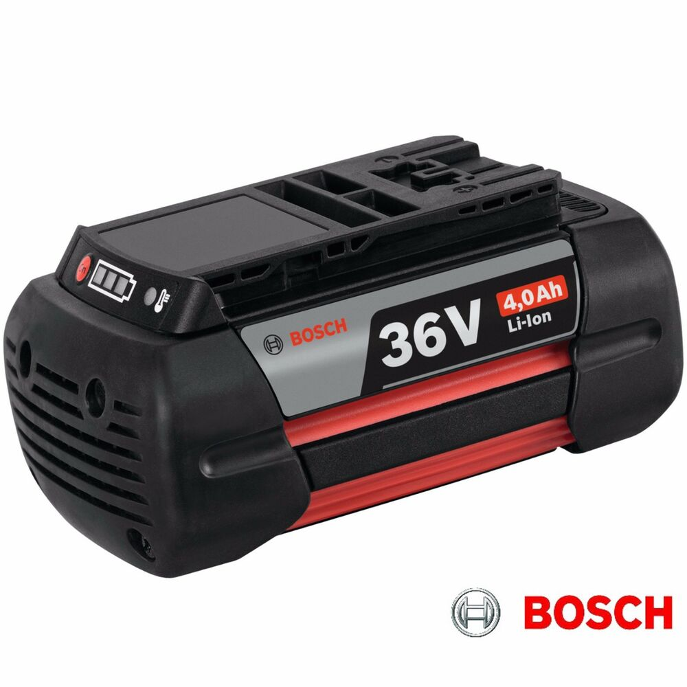 bosch 2607336915 36 volt 36v 4ah li ion battery pack gba36 ebay. Black Bedroom Furniture Sets. Home Design Ideas