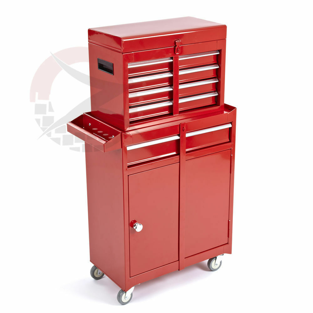 5 drawers portable tool top chest roller cabinet box for Roller sideboard