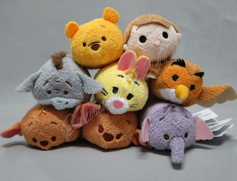 Winnie The Pooh Toys : Quot tsum plush toy winnie the pooh gopher owl
