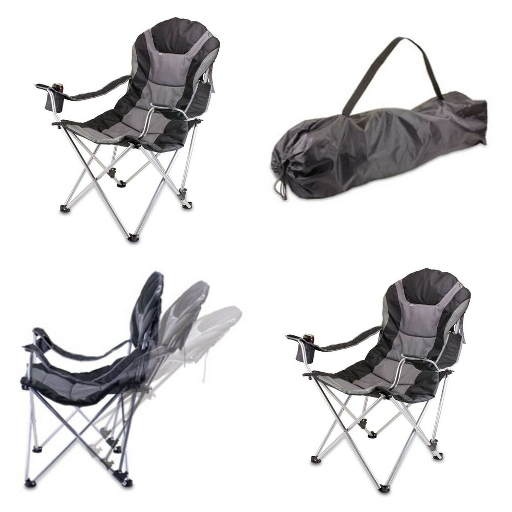 3 Way Reclining Folding Chair Seat Camping Hiking Beach